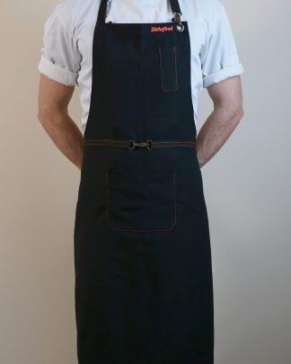 Престилка за готвачи от дънков плат
