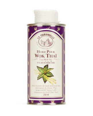 Инфузия от лимонена трева, пресен тайландски босилек в масло от гроздови семки